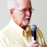 Petersen teaches about the Central Overland Trail