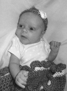 Grace Taylor baby 1-12-12