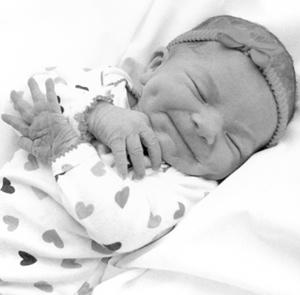 Alexis Atkinson baby 2-3-11