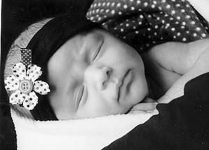Avery Esparza baby 5-7-09