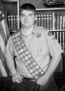 Eagle Scout Justin French