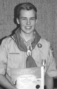 Eagle Scout Shai Shields