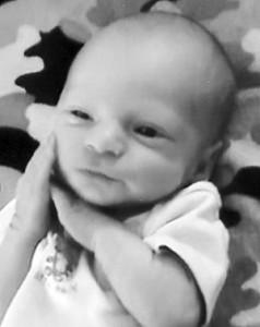 Hunter Watkins baby 10-8-09