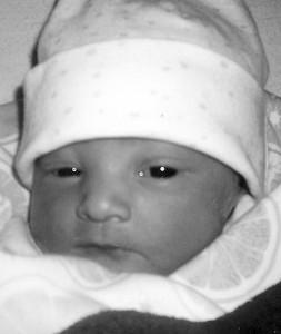 Jade McQuiddy baby 7-7-09