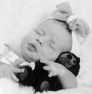Sydnee Lee baby 10-6-09