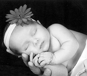Taylor Fawson baby 8-3-10
