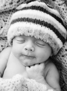 Wyatt Broderick baby 5-28-09