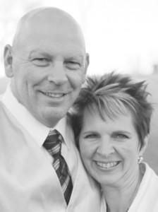 Jerel Johnson and Wendy Heder