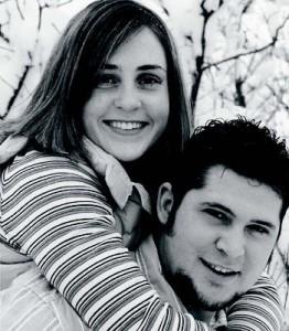 Miranda McBride and Chris Barton