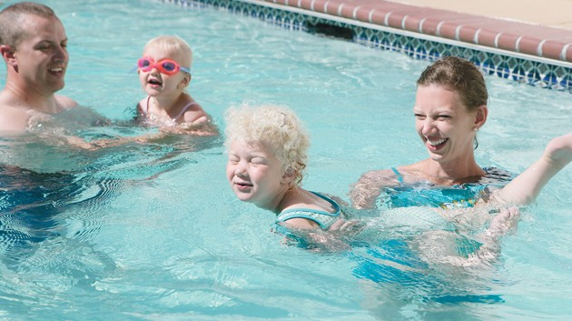 Stansbury Family Offers Their Pool For Lessons Tooele Transcript Bulletin News In Tooele Utah