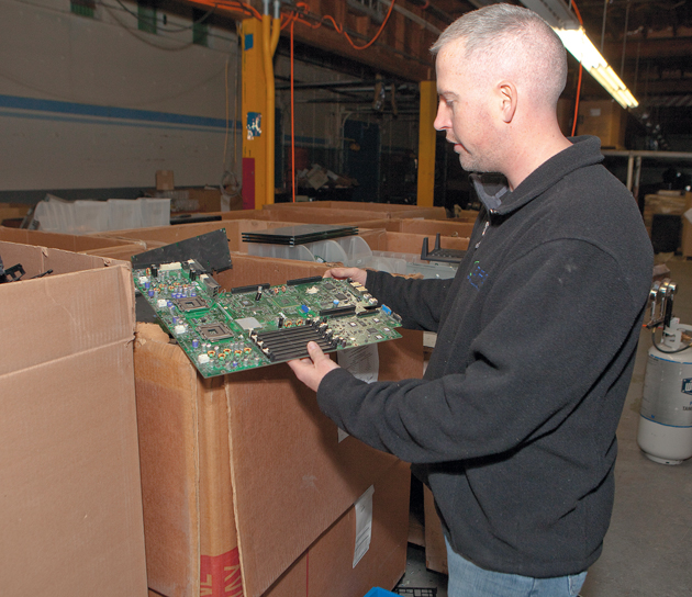 E-waste recycling company brings in new business