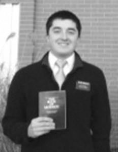 Missionary Elder Tyler Gonzalez