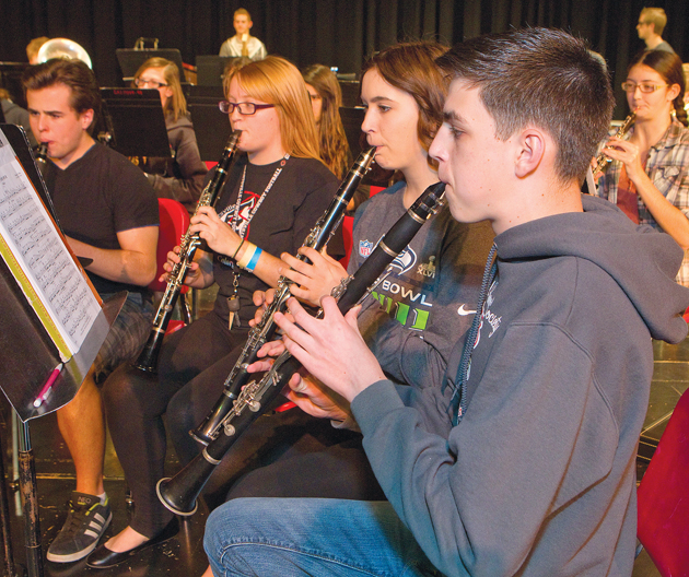 GHS concert band and USU orchestra to join forces for free concert Wednesday