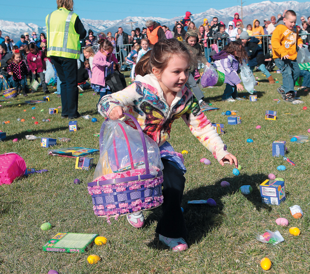 Easter egg hunt moved to Miller
