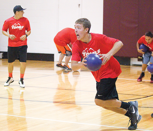 Gym Ball Watson: Tooele City Thrashes Competition In Dodgeball « Tooele