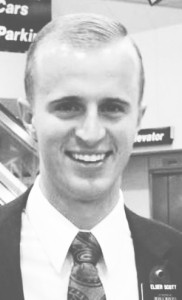Missionary Elder Matthew Scott