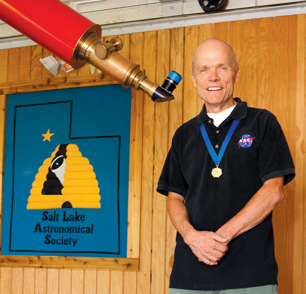 Wiggins' volunteer efforts provided vision for NASA national educator program