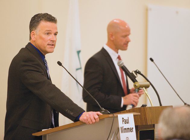 Sheriff and commission candidates present different perspectives during lively debate