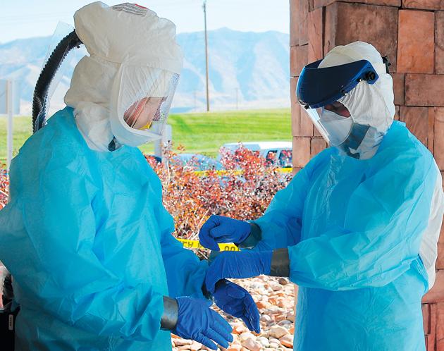 Mountain West holds Ebola test exercise