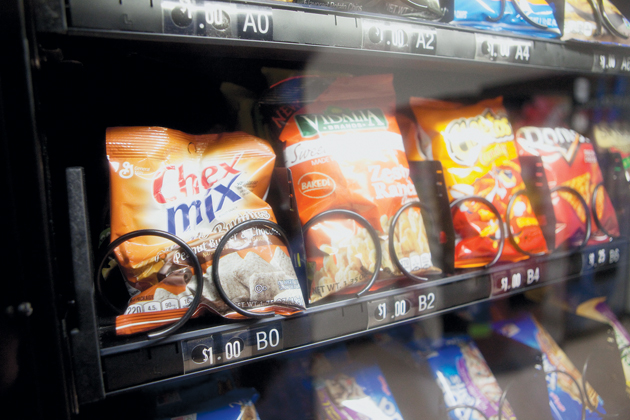 New school policy targets vending machines