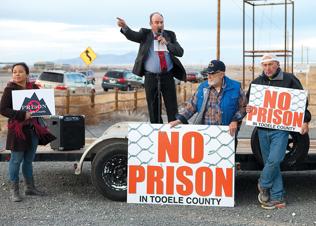 Marshall: 'We don't want this prison'