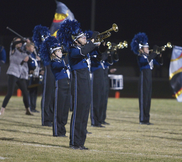 SHS marching band strives for high success