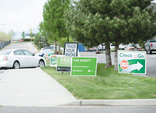 Tooele City Council may loosen controversial sign restrictions