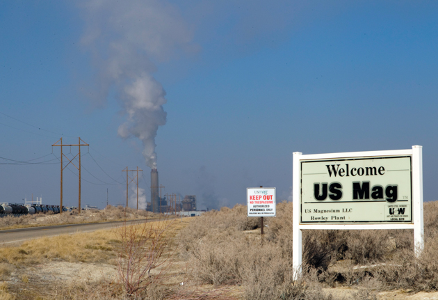 US Magnesium tops county list for toxic releases, yet overall emissions decline