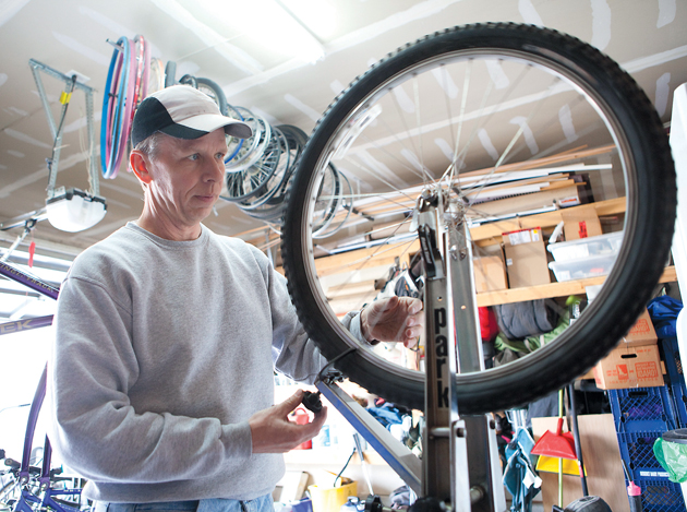 Bike shop opens in Stansbury garage to meet growing local repair demand