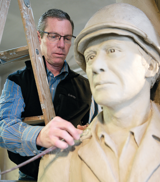 Sculptor raising funds to install bronze statue