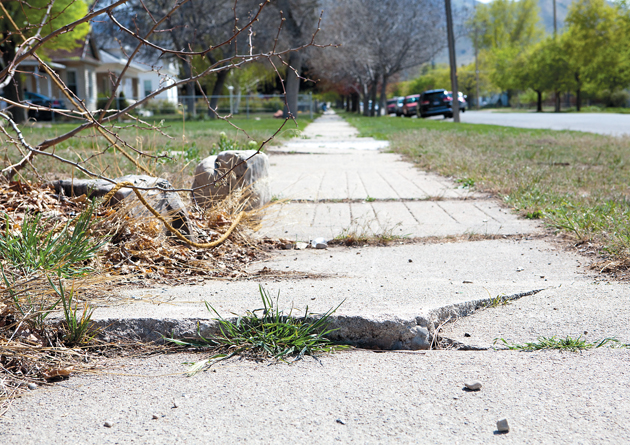 Tooele City conducting survey to assess condition of sidewalks