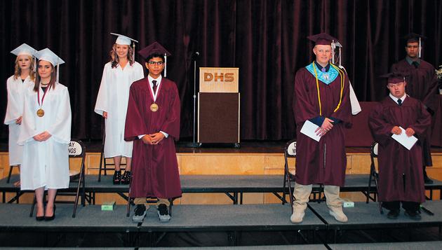 Dugway graduates 8 seniors