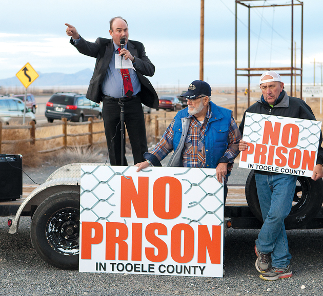'One down, one to go' says Marshall about prison sites