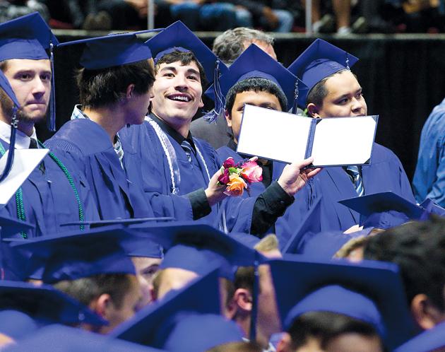 SHS grads: Be 'a positive influence on lives'