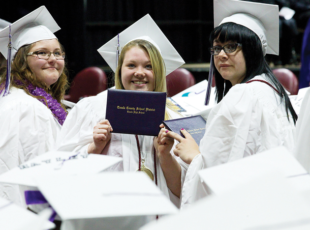 THS grads urged to 'make a difference'