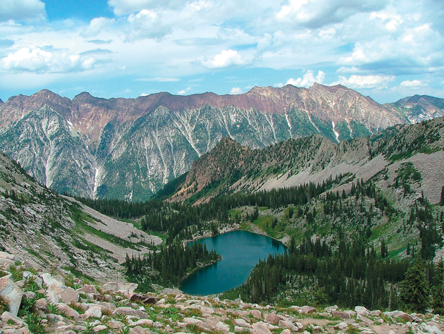 White Pine Trailhead will take you deep into the Wasatch ...