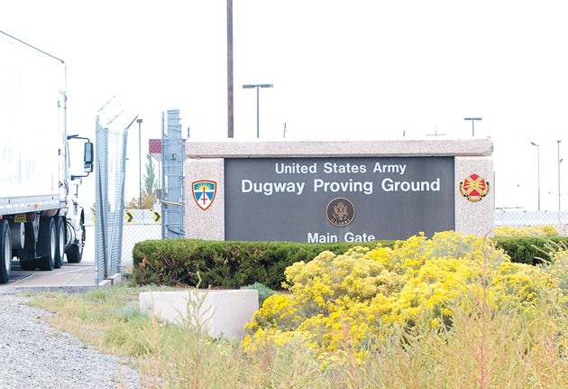 Live anthrax from Dugway called 'inexcusable' failure by DOD official