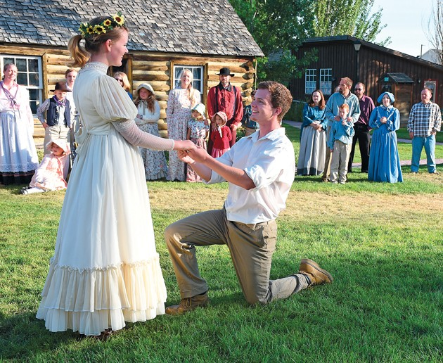 Gristmill pageant comes back to stage