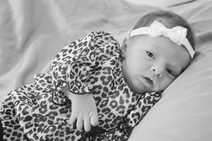Baby Linda Scarlet Clifton