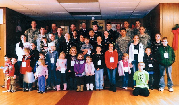 FOE and local soldiers help make Christmas bright for kids