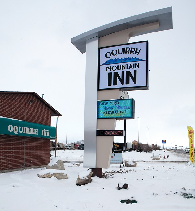Hotel in Lake Point gets new sign, name after truck crash
