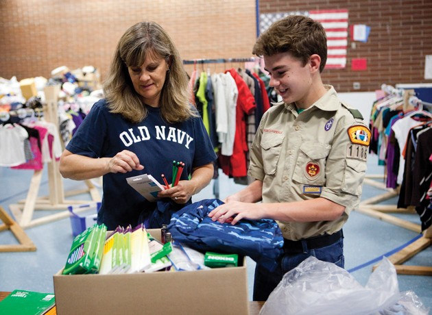 Education groups seek used clothing to help disadvantaged youth