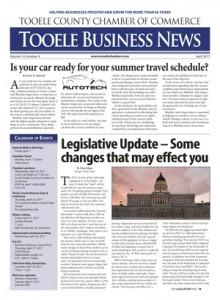 Cover 2017 04 April - Chamber Newsletter