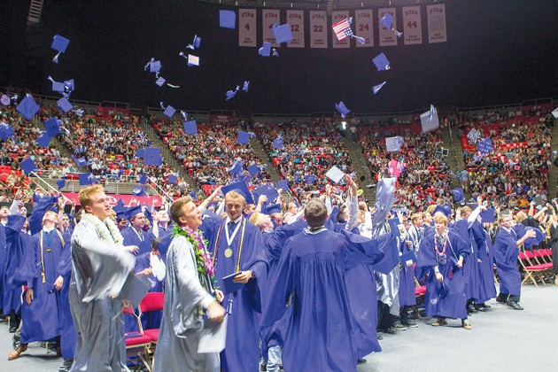 Stansbury seniors use creativity and wit to make commencement memorable