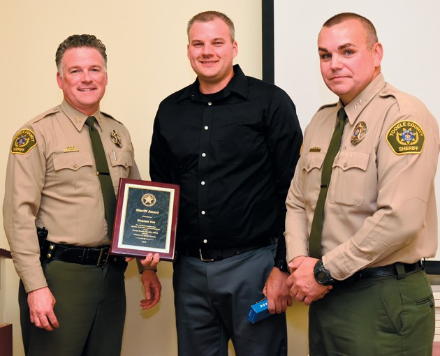 Sheriff honors department staff during annual awards banquet