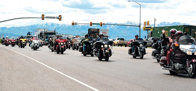 Veterans' motorbike ride to D.C. makes stop in Lake Point