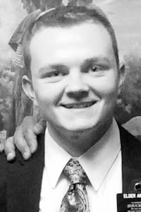Missionary Elder Logan B. Andrus