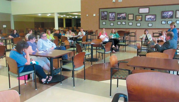 No love for SAGE test dominates talk at local town hall meeting