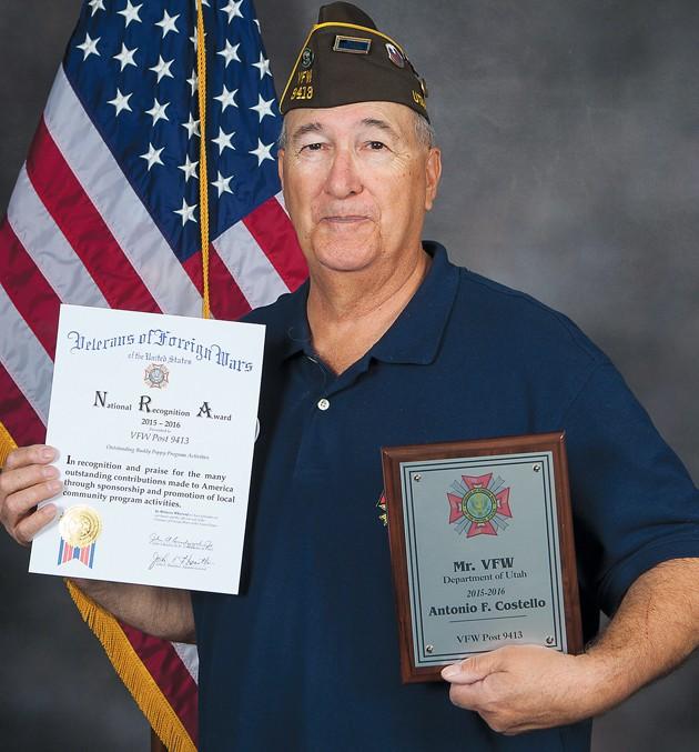 Tooele veteran named Utah's 'Mr. VFW' for volunteer work