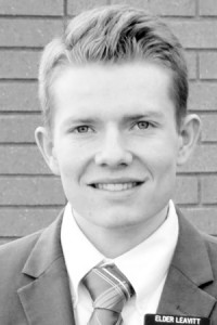 Missionary Elder Kacey Leavitt